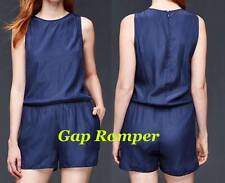 fdf2d9034508 Gap Sleeveless Romper for Women in Comet Blue Size Small