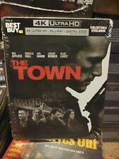 The Town SteelBook[4K Ultra HD + Blu-ray + Digital] Best Buy Brand New