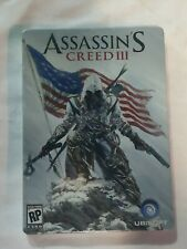 NEW Assassin's Creed III Steelbook Alex Ross Pre-Order- Game Not Included