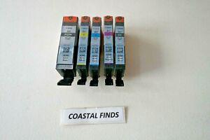 Canon 280 281 Ink Cartridge CMYK Set of 5 NEW OEM Genuine Sealed Setup PGI-280
