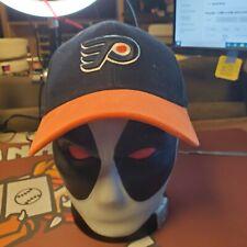 Philadelphia Flyers NHL Reebok Adult Unisex Black Curved Brim Cap/Hat