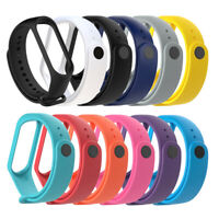 For Xiaomi Mi Band 4 Sports Soft TPE Silicone Replacement Wristband Wrist Strap