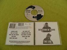Definition Of Sound - The Lick - RARE Original 1992 USA CD NM / Rap Hip-Hop