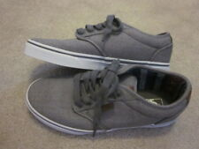 Men's VANS Atwood Deluxe Grey / White Casual Off The Wall Sneakers Shoes~8-M~EC