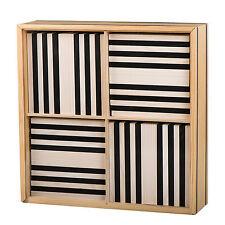 KAPLA Schwarz/Weiß 100er Box Holzbausteine