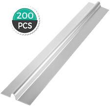 """125 4ft Aluminum Omega Radiant Floor Heat Transfer Plates for 1/2"""" Barrier PEX"""
