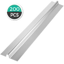 200pcs 4ft Omega Aluminum Radiant Floor Heat Transfer Plate For 12 Pex Tubing