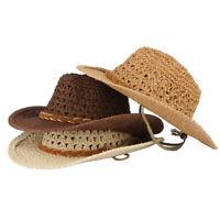 Unisex Adult&Kid Cowboy Hat Cowgirl Sun Hat Cap Fancy Dress Costume Outfits