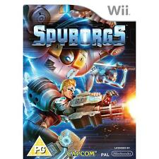 Nintendo Wii PAL version Spyborgs
