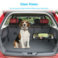 Universal Pet Dog Safety Steel Barrier Mesh Fence Cage Adjustable for SUV Car US