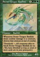 MtG x1 Foil Stone-Tongue Basilisk Odyssey - Magic the Gathering Card