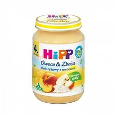 HiPP ORGANIC Fruit & Oats with rice baby meal -1 jar - from the 4th month