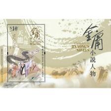 2018 Hong Kong Characters in Jin Yong's Novels Stamp Sheetlet