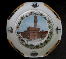 Fabulous Venice Italy Souvenir Plate large beautifully decorated 11 3/4""