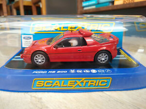 SCALEXTRIC C3319 FORD RS 200 COLLECTOR CENTRE. MINT BOXED.
