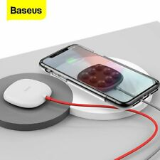 Baseus Wireless Charger Suction Cup Charging Pad for Samsung iPhone US STOCK
