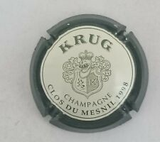 capsule champagne KRUG petit K blason n°53a clos du mesnil 1998 32mm