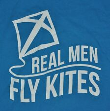 T-SHIRT L LARGE KAPPA ALPHA THETA SORORITY REAL MEN FLY KITES 2004 CRUSH SHIRT