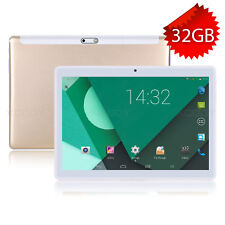 10 inch IPS Android Tablet PC 32GB 4Core 3G Phone Dual Sim GPS Unlocked 10.1''