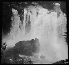Glass Magic lantern slide  JAJCE - WATERFALLS NO2 C1910 BOSNIA