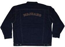 Vintage mojeans Denim Jacke Maurice Malone Leder Patch