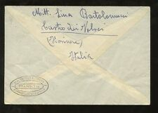 ITALY 1945 VERY CLEAR CIVIL CENSOR + PEGASUS + SURCHARGE ISSUES FRANKING