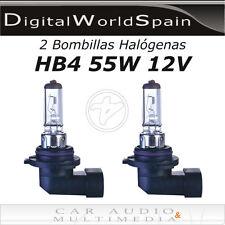 2 BOMBILLAS HALOGENAS HB4 9006 55W 12V COCHE LUCES REPUESTO.ENVIO 24H GRATIS