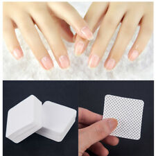 100x Nail Art Manicure Polish Remover Cleaner Wipe Lint Free Cotton Pads Paper