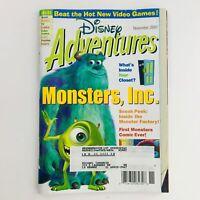 Disney Adventures Magazine November 2001 Monster Inc. Inside The Monster Factory