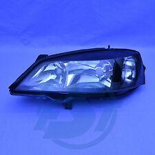 Phares Opel Astra G noir gauche verre transparent neuf Black BJ. 98-05 h7/hb3