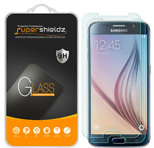 2X Supershieldz Tempered Glass Screen Protector Saver For Samsung Galaxy S6