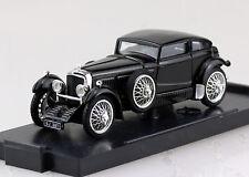 Bentley Speed Six Blue Train Match schwarz 1928 1:43 Brumm Modellauto R185