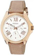 New Fossil AM4532 Multifunction Gold-Tone Stainless Steel Women's Watch $145