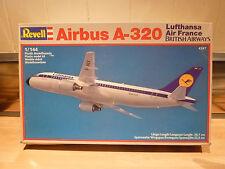 REVELL 1/144 AIRBUS A-320 LUFTHANSA, AIR FRANCE, BRITISH AIRWAYS MODEL KIT