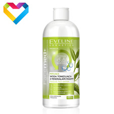 Eveline Cosmetics Facemed+ Matting Matcha Tea Water Toner Combination Skin 400ml