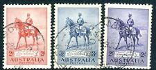 Australia - 1935 Plata Jubileo Set SG 156-158 Fine Used V16065