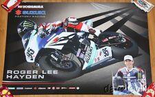 2014 Roger Lee Hayden Yoshimura Suzuki GSX-R1000 Superbike AMA poster