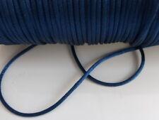 10 Metros X Oscuro Azul 2 Mm De Cola De Rata Cola De Rata De Satén De Nylon Para Molduras De Cable