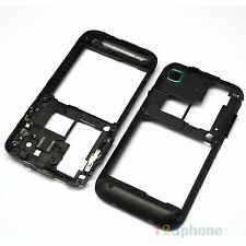 REAR BACK CHASSIS + CAMERA LENS HOUSING FOR SAMSUNG GALAXY S i9000 #H75RC #BLACK