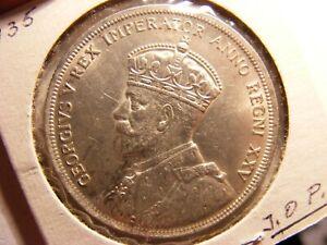 Canada 1935 Silver Dollar, UNC, JOP C/S (GOOGLE IT)
