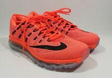 Nike Air Max 2016 Womens Running Cross Training Shoes Orange Black Size 10