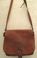AUTHENTIQUE  sac à main  STYLE HIPPY  cuir    (T)BEG sublimebag