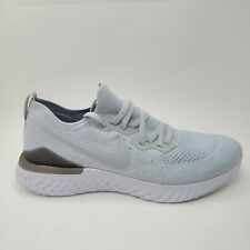 Nike Epic React Flyknit 2 Running Shoes Mens 14 Pure Platinum BQ8928-004