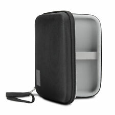 Folding Bluetooth Keyboard Case with Protective Hard Shell and Accessory Pouch