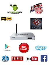 Zoomtak H8 Android Kodi 17.6 Smart TV Box 4K The Power Is Limitless!