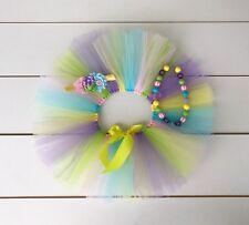 SALE! Rainbow Cake Smash Outfit - 3 Piece First Birthday Tutu Set Baby Girl