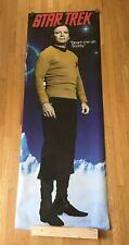 """New Star Trek Captain Kirk Door Poster """"Beam Me Up Scotty� 26�x76� Unopened"""