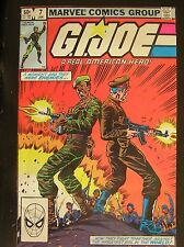 G I Joe comics Issues # 2 # 5 # 7 Aug Nov Jan 1982, 1983 are in excellent cond