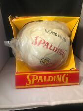 Vintage 70's Spalding World Pro 18 Official Rubber Volleyball  Brand New