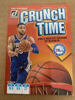 Ben Simmons 2019-20 Panini Donruss Crunch Time Insert #18 Philadelphia 76ers NBA